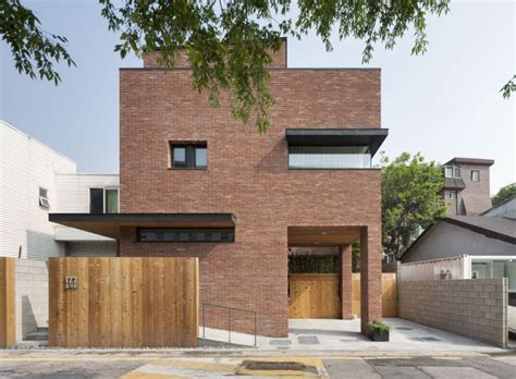 house in hyojadong by min soh gusang architectural