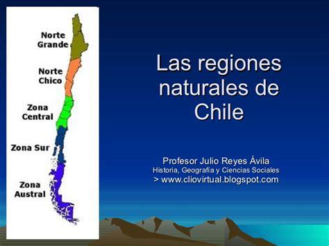 imagenes de las zonas naturales de chile regiones naturales de chile