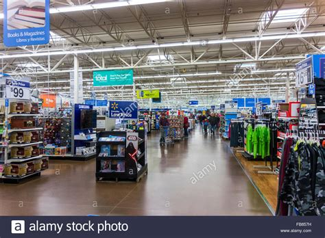 christmas store usa post shoppers walmart store pasco washington state usa stock photo royalty free