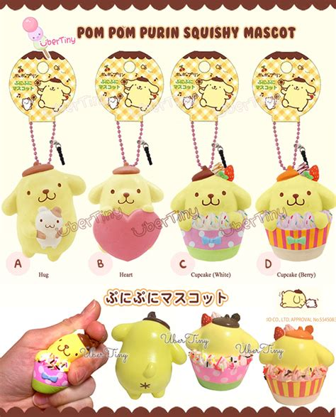 Squishy Licensed Fruit Original pompom purin mascot squishy licensed 183 uber tiny 183 store powered by storenvy