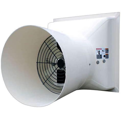 As 24 Fiberglass Fan Agri Ap 24 Quot Competitor Fan With Cone Cs24c1 Agri Sales Inc