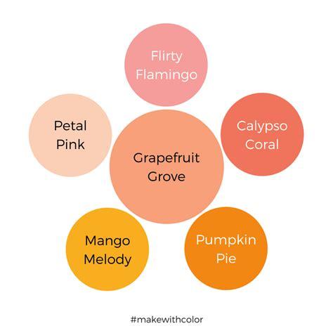 grapefruit color color of the week grapefruit grove mackenzie makes