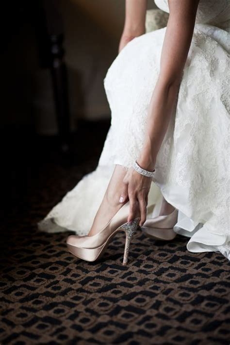 blush pink wedding shoes si quiero