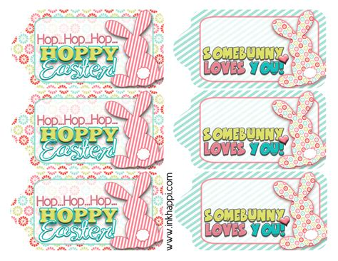 printable easter basket gift tags easter gift tags to help quot wrap it pretty quot inkhappi