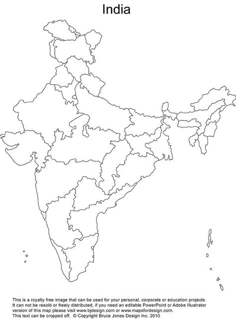 An Outline Political Map Of India by Political Map Of India Outline India Outline Political Map Southern Asia Asia