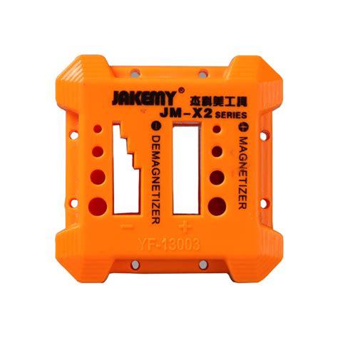 Jakemy Magnetizer Demagnetizer Jm X3 X2 4slot jakemy jm x2 magnetizer demagnetizer for steel screwdriver blades tweezers ebay