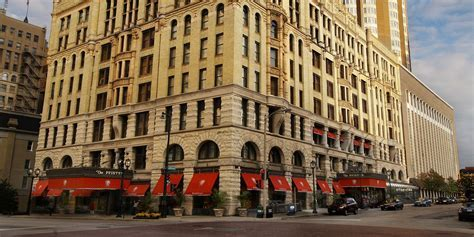 The Pfister Hotel in Milwaukee, Wisconsin