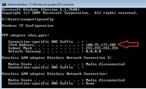 Ip Lookup Command How To Find Out Your Computer S Ip Address In Windows 7