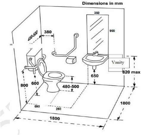 building regulations bathroom windows alturas de accesorios de ba 241 o medidas arquitectura