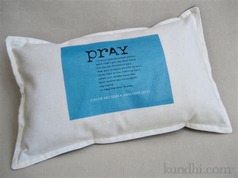 Pillows And Prayers by Handmade Baptism Gift Prayer Pillow