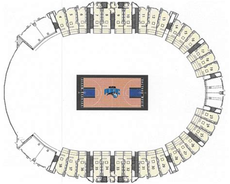 amway center floor plan founders suites amway center