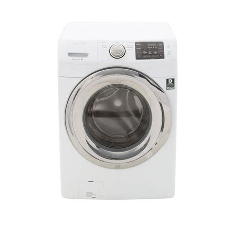 samsung washing machines 4 2 cu ft front load washer with steam in white energy