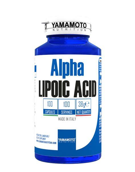 acido lipoico alimenti alpha lipoic acid di yamamoto nutrition 100 capsule