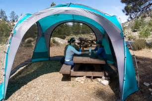 Camping Picnic Table Canopy by The Best Canopy Tent For Camping And Picnics The Wirecutter
