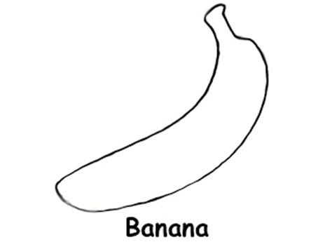 printable banana shapes sidther free printable preschool level coloring pages