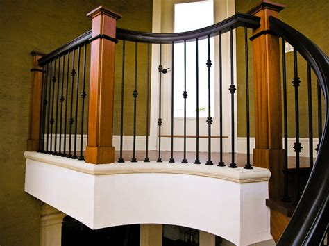 rod iron banister stair balusters wrought iron interesting ideas for home