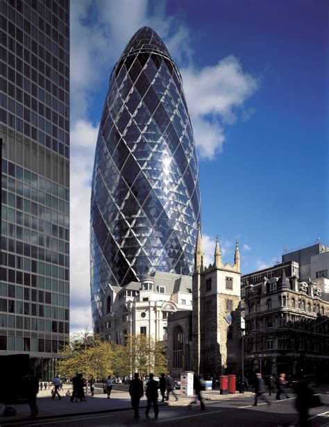 Home Design Architect Near Me London S Famous Quot Gherkin Quot Receives 10 Year Performance