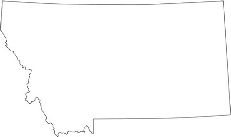 montana map coloring page montana map silhouette free vector silhouettes