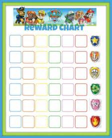 10 best images of paw patrol potty chart free printable