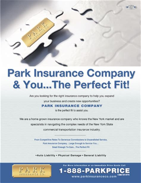 Park Insurance ads in Insurance Journal