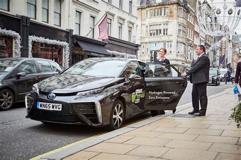 Privat Auto Mieten by London S First Hydrogen Private Hire Car Business Car