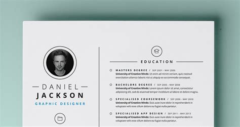 simple resume template vol4 simple resume template vol4 resumes templates pixeden