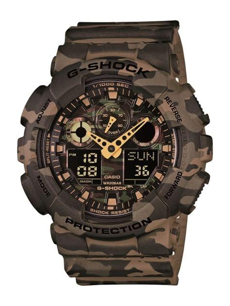 G Shock 12 casio g shock ga 100cm camouflage plated