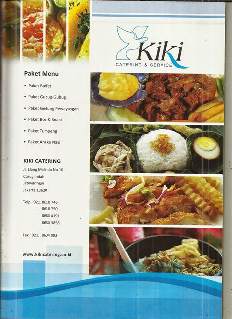 kiki catering tawarkan katering lebaran  tiga