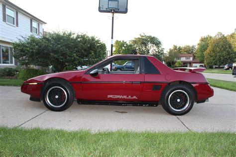 1988 Pontiac Fiero Formula For Sale by 1988 Pontiac Fiero Pictures Cargurus