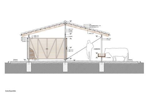 stable section establo 57studio plataforma arquitectura