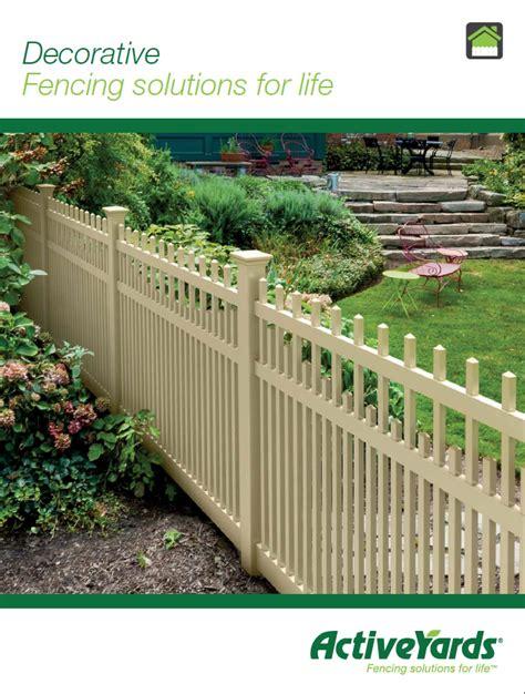 decorative privacy fences decorative fences abe fence