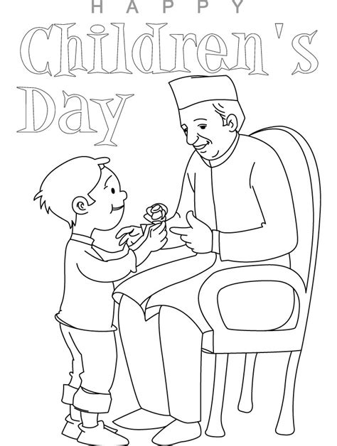 Childrens Day Coloring Pages Coloring Kids Coloring Pages Of Children S Day