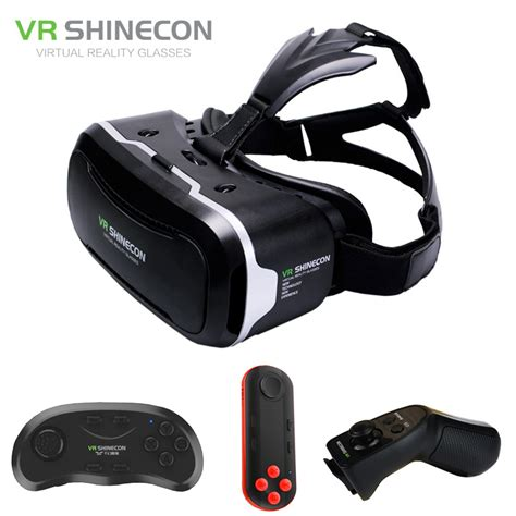 Reality Vr I One For Smartphone vr shinecon 2 0 3d glasses reality smartphone headset cardboard vr box helmet for
