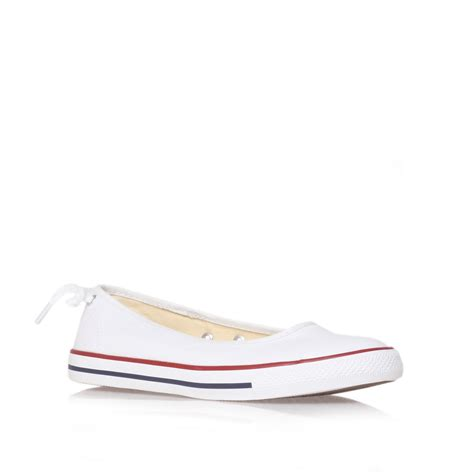 ballerina sneakers converse ct ballerina shoes in white lyst