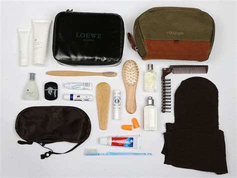 we the 10 best class airline amenity kits