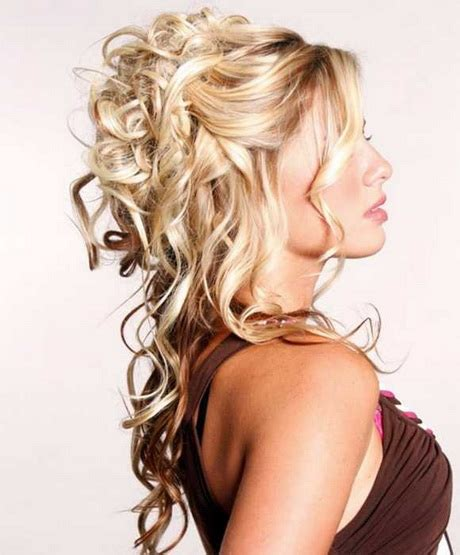 homecoming hairstyles for long hair half up prom hairstyles down 2016