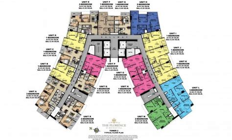 gerard towers floor plans the florence floor plans