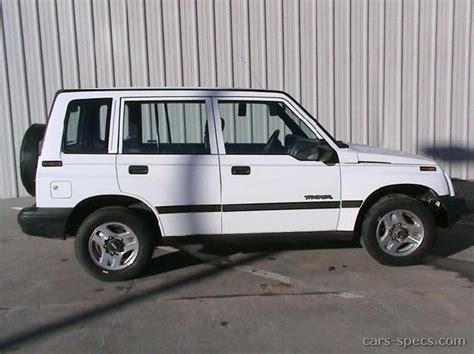 electric and cars manual 1993 geo tracker user handbook 1993 geo tracker suv specifications pictures prices