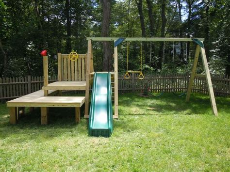 4x4 swing set plans dollops of diane building your own swing set kids funky