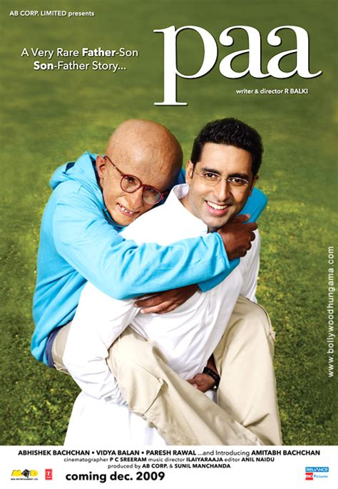 Paa (2009) Movie Preview Starring Amitabh and Abhishek ...