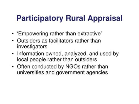Pra Participatory Rural Appraisal ppt what is an agroecosystem powerpoint presentation id 1141685