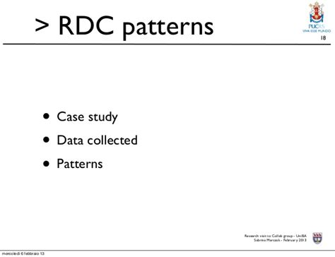 pattern matching analysis case study requirements driven collaboration a framework and