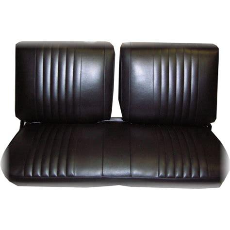 nova bench seat pui 73xs10b 1973 1974 nova front bench seat upholstery black