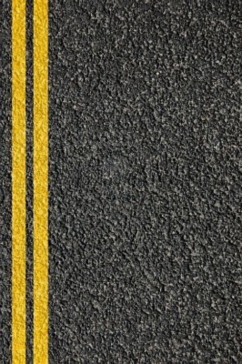 pattern of yellow lines on the roadway asphalt texture the road and roads on pinterest