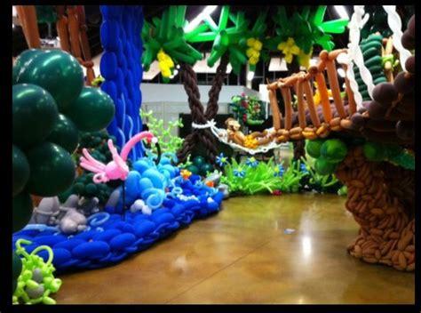 jungle themed balloon decorations balloon decor jungle theme balloon decor balloon