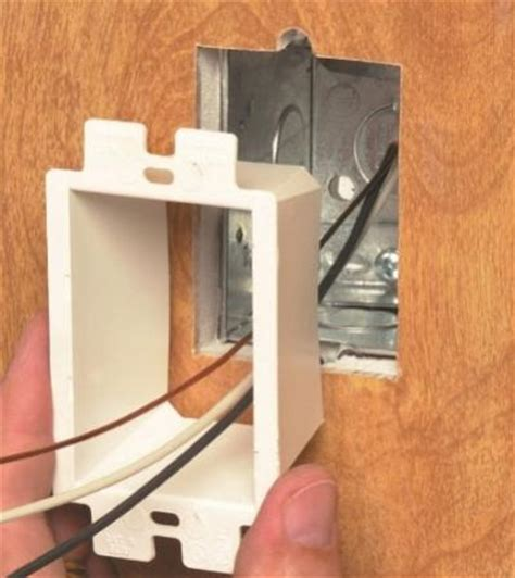 electrical outlet box in new drywall doityourself