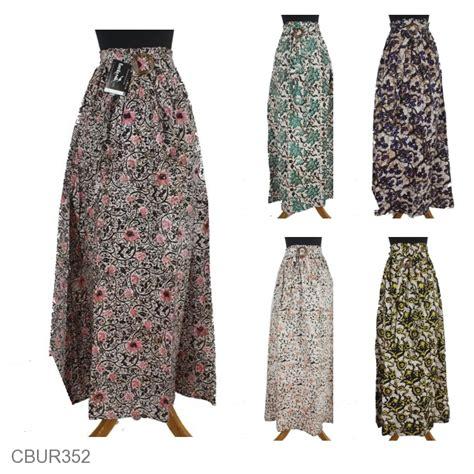 Rok Klok Anak rok klok motif sogan bunga warna bawahan rok murah