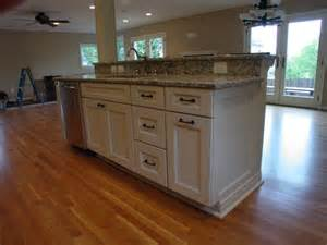 raised kitchen island cook bros 1 design build remodeling contractor in arlington virginia