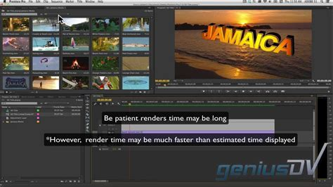 how to integrate after effects with adobe premiere pro cs6 adobe premiere cc 3d text using after effects youtube