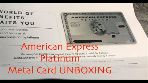 Amex Business Platinum Metal Card